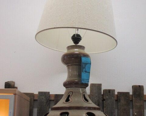 Grande lampe céramique double éclairages